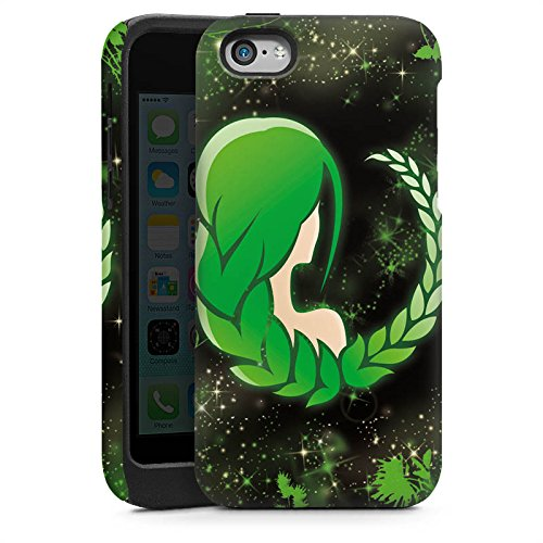Apple iPhone 4s Housse Étui Silicone Coque Protection Signes du zodiaque Vierge Vierge Cas Tough brillant