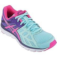 Asics Gel Zaraca 3 - Zapatillas de running para mujer, color Mint/N.Pink/D.Purp, talla 36