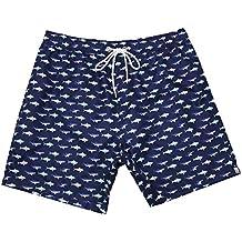 ICEbear Bañadores de Natación Hombre Pantalones Cortos Playa Shorts Ligero ...