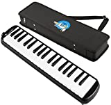 #10: Swan 37 Key Melodica with Case - Black