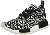 adidas Unisex-Kinder NMD_r1 Pk Sneakers, Mehrfarbig core Black/FTWR White, 38 EU