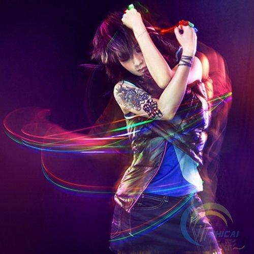 30 x LED Finger Ringe, Disco Party Feier Fingerlights, Party Tanzen Rave Led Finger Ringe für Party Disko