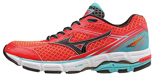 Mizuno Damen Wave Connect Wos Wettkampfschuhe Rosso (Rougered/Black/Capri)