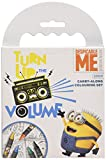 Despicable Me Minions Carry Along Colouring With 5 Crayons and Plenty of Activities To Complete