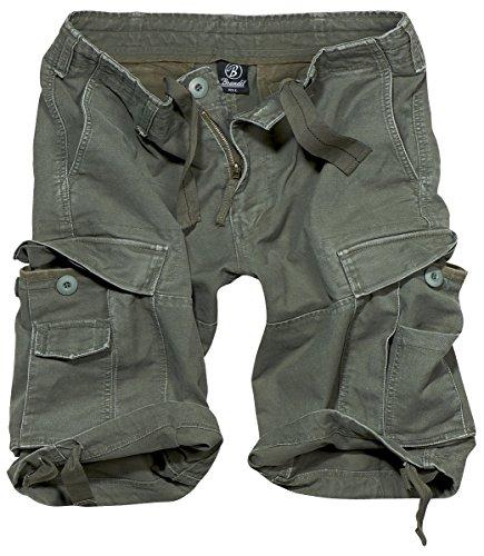 Brandit Vintage Shorts Vintage Shorts Oliv 7XL