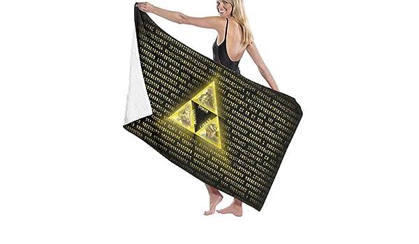 xcvgcxcvasda Le-nd Ze-lda Pool Strandtuch Mikrofaser Badet/ücher Schnelltrocknende Handtuch Decke f/ür die Reise Schwimmbad Yoga Camping Gym Sport