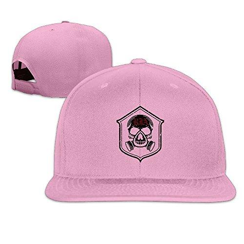 THNA apos;Der rot Overall Apparat Band Logo Verstellbar Fashion Baseball Hat Gr. One size, rose