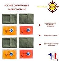 Preisvergleich für Tranquilisafe®Set mit 4Wärmekissen, wiederverwendbar und praktisch, beruhigt und lindert Schmerzen