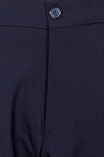 Gianfranco Ferre Herren Sakko Business Anzug, Kurzmantel, Blazer fürs Büro und den Alltag, Dunkelblau SLIM FIT, Elegant Dunkelblau