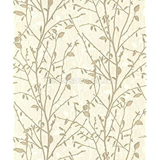 Arthouse 291501 Wallpaper. Wallcovering, Gold