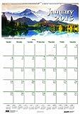 House of Doolittle Earthscapes Szenischer Wandkalender 12 Monate Januar 2015 bis Dezember 2015, 12 x 16,5 Zoll, Farbfoto, recycelt (HOD378)