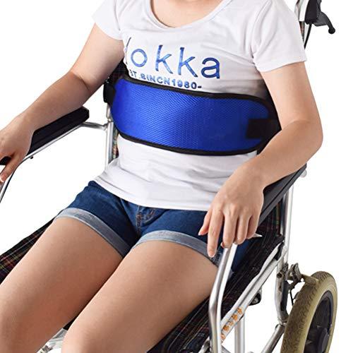 51EyqA2ZX9L - SUPVOX Cinturón de Silla de Ruedas Arnés de Seguridad para Pacientes Discapacidades