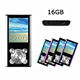 Crillutar 16GB MP3-Player MP4-Player Interner Speicher Media-Player Tragbarer Video-Player