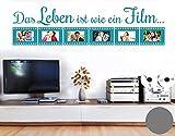 Klebefieber Wandtattoo Wie Ein Film B x H: 159cm x 40cm Farbe: Grau
