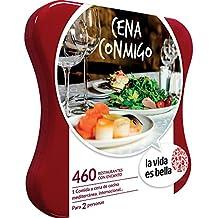 LA VIDA ES BELLA - Caja Regalo - CENA CONMIGO - 460 restaurantes con encanto