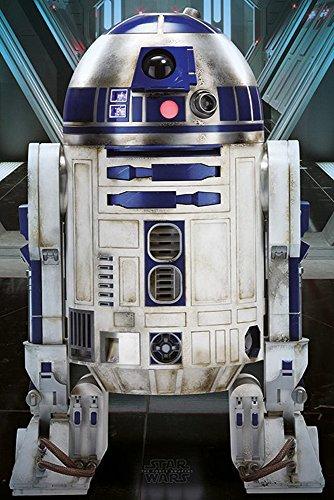 empireposter Star Wars EP7 R2-D2 Episode 7 Poster Plakat Größe 61x91,5cm, Papier, bunt, 91.5 x 61 x 0.14 cm