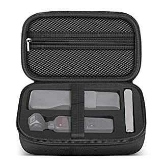 Neewer Durable Estuche Impermeable Portátil 20x12x12,5 cm con Almacenamiento de EVA para DJI Osmo Pocket Gimbal Cámara de Mano Estabilizada Portátil 3 Ejes(Negro)