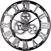 horloge murale fer forge