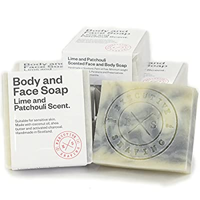 Lime and Patchouli All Natural Body and Face Soap 160g