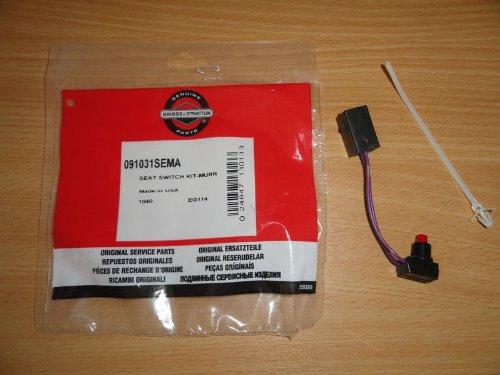 véritable kit Interrupteur Siège Murray pour tondeuses Ride On 091031 91031