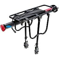 Altruismo Mountain Bike Porta Posteriore In Alluminio, Black - Lega Posteriore Rack