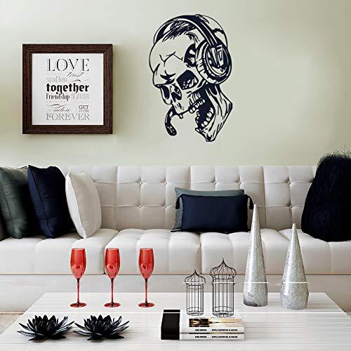Halloween Wandaufkleber Schlafzimmer Wohnzimmer PVC abnehmbare Dekorpapier Wandbild