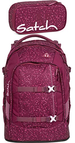 Satch Pack Berry Bash 2er Set Schulrucksack & Schlamperbox