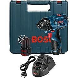 Bosch Professional Bosch Visseuse à Chocs GDR 120-Li (2x1, 5Ah; Case)/ 06019F0001