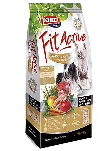 übergewichtige Hunde Hundefutter Für (Panzi FitActive Premium Hundefutter Hypoallergen Lamm für ältere Hunde)