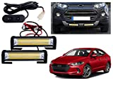 #5: Auto Pearl Premium Quality High Brightness 50 Watt LED Offroad Bumper Light Flasher With 6 Mode Changer Switch For - Hyundai Elantra 2017