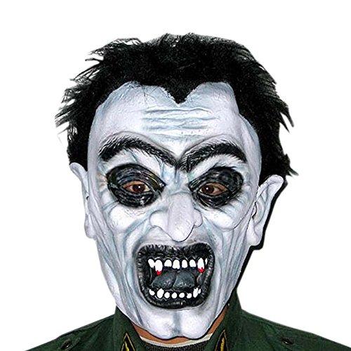 Koala Superstore Kostüm Party Cosplay Latex Scary Masken Ghost Maske Halloween Terrorist Masken (Billig Ghost Kostüme)