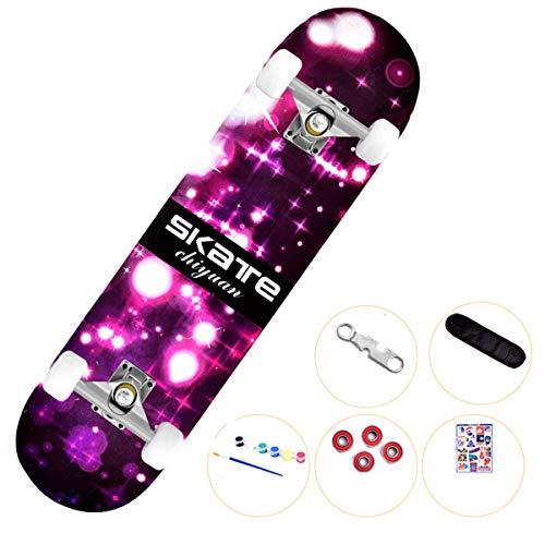 L&WB Skateboard - Komplettes Skateboard Pro 31