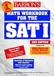 Math Workbook for the SAT I (Barron's SAT Math Workbook) by Lawrence S. Leff (2000-02-01)