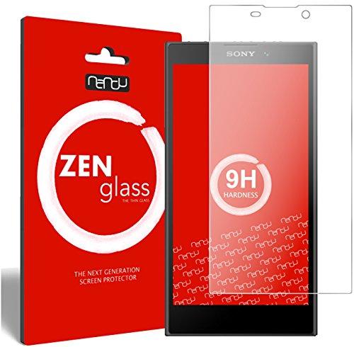nandu I ZenGlass Flexible Glas-Folie für Sony Xperia L2 Panzerfolie I Display-Schutzfolie 9H