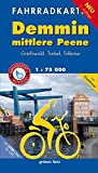 Fahrradkarte Demmin, mittlere Peene: Mit Greifswald, Trebel und Eiszeitroute. Mit UTM-Gitter für GPS. Maßstab 1:75.000. Wasser- und reißfest. (Fahrradkarten)