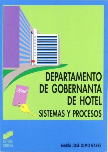 Descargar De Torrent Departamento de gobernanta de hotel. Sistemas y procesos Fariña PDF