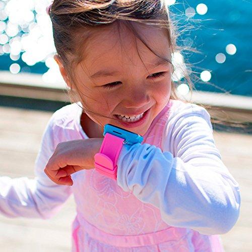 XPLORA - Telefonuhr für Kinder - Telefonieren, Mitteilungen senden und empfangen, Ruhezeiten, Sicherheitszonen, SOS, GPS-Ortung, Kalender (BLAU SIM-Free) - 5