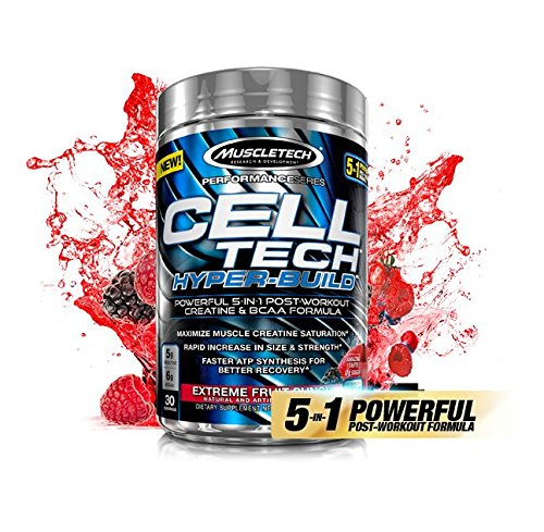 Muscletech Celltech Hyper Build Muscletech Post-Workout Kreatin Zellkonzentration (Icy Rocket Freeze)