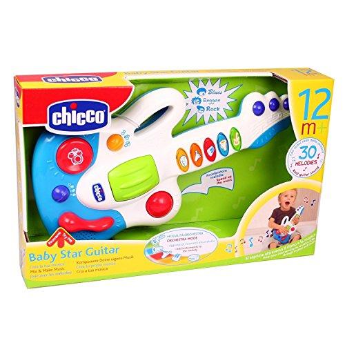 Chicco 00060068000000 - Guitarra de juguete con botones con sonidos
