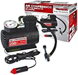 12v Compact Air Compressor Pump Tyre Inflator Bicycle Ball Bike Car Van