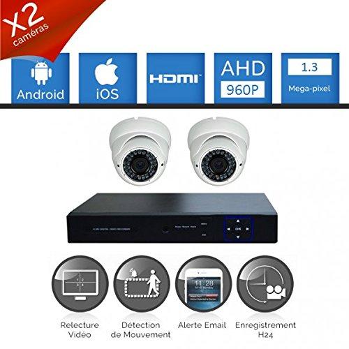 Kit-videovigilancia-2-Cmaras-Full-AHD-Sony-960p-13-mp--incluye-1000-GB-2-Cable-de-40-M-pantalla-22