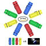 YoungRich 24 Pack Torch Key-ring Keychain Flashlight Assorted - Best Reviews Guide