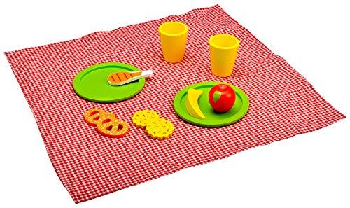 Idena 4100107 - Little Chef picnic - Set di legno con coperta...