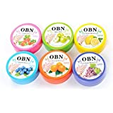 Yoana OBN Nail Polish Remover Pads Wet Wipes (Pack of 6)