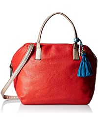 Gussaci Italy Women's Handbag (Red) (GUS066)