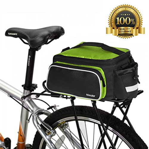 Advocator 20-35 L strapazierfähige Fahrradtasche mit Schultergurt, Gepäckträger, Schultergurt, Rücksitz, Aufbewahrungspaket für Fahrrad, Fahrradzubehör für Rennräder, Mountainbikes, G1