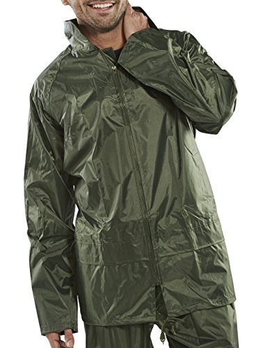 B Dri Weatherproof Nylon B-Dri Jacket Olive - XL Composite-nylon-boot