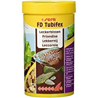 sera 01350 FD Tubifex 250 ml - proteinreiche Leckerbissen zur Stärkung, durch ein besonders sehr aufweniges Herstellungsverfahren frei von Parasiten & Krankheitserregern