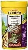 sera 01340 FD Tubifex 100 ml - proteinreiche Leckerbissen zur Stärkung, durch ein besonders sehr aufweniges Herstellungsverfahren frei von Parasiten & Krankheitserregern