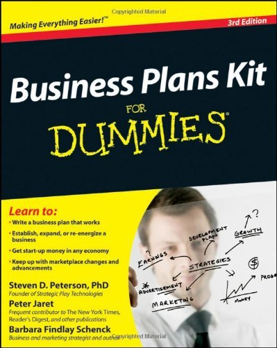 Business Plans Kit For Dummies by Steven D. Peterson (2010-05-10)